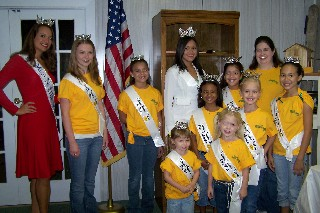 Miss NC and Festival Queens