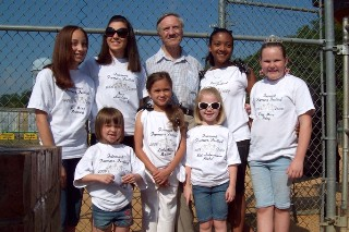 Queens at Little League opening day