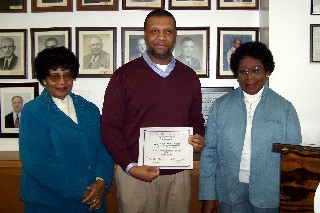 Minnie Baker, Dr. Keith Baker and Novella Worley