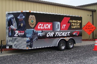 Click It or Ticket trailer