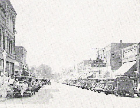 Main Street circa late 1920s or early 1930s