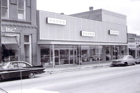 Popes Store 1964